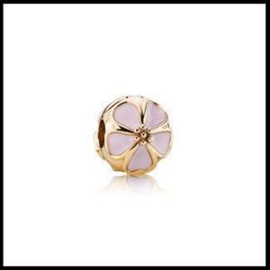 Pandora RETIRED 14k Cherry Blossom Clip